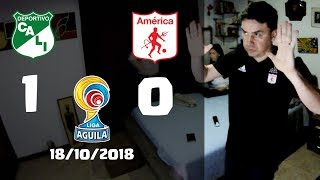 Reacciones Deportivo Cali 1 vs America de Cali 0 | Liga Aguila II 2018