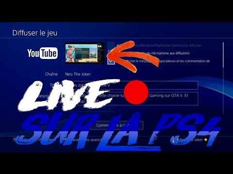 Comment faire un LIVE Youtube sur sa PS4 !! 2017
