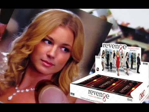 ABC Revenge Trading Cards Box Break - Emily VanCamp