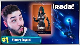 I BOUGHT THE NEW DESTINATION SKIN AND DISTRIBUTED HEADSHOTS! FORTNITE