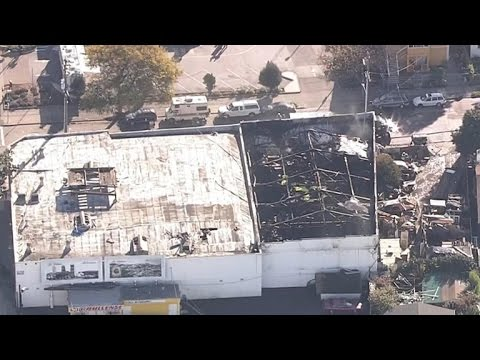 "Police: We'll be at Oakland warehouse fire scene ""for days"""