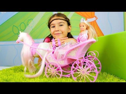 Barbie balo ve düğün için hazırlık ve saç yapma oyunu