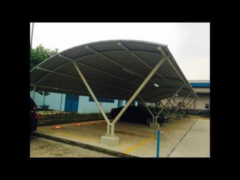 Atap Kanopi Lengkung Zincalum TUSA [0813-1200-4375]