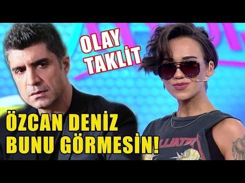 Neslihan'dan OLAY Yaratacak Özcan Deniz Taklidi!