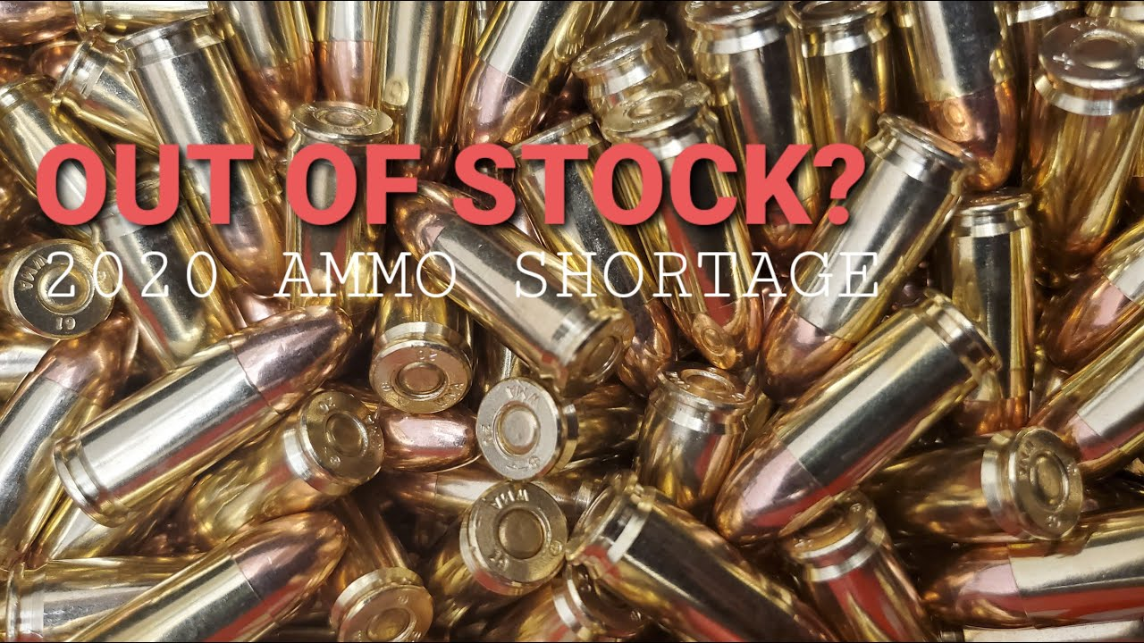 HOW MUCH AMMO IS ENOUGH AMMO? - 2020 Ammunition Shortage