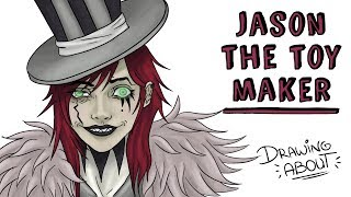 JASON THE TOYMAKER | Draw My Life | Creepypasta