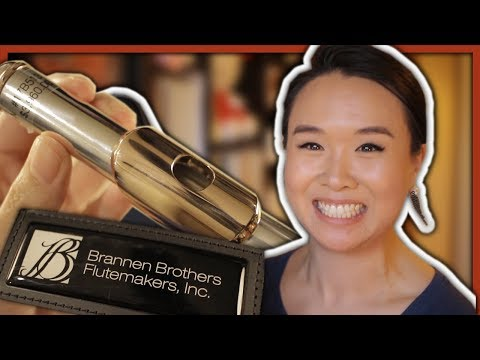 "Brannen ""Brögger Flute"" ft. 15/85 Gold-Silver Alloy Headjoint 