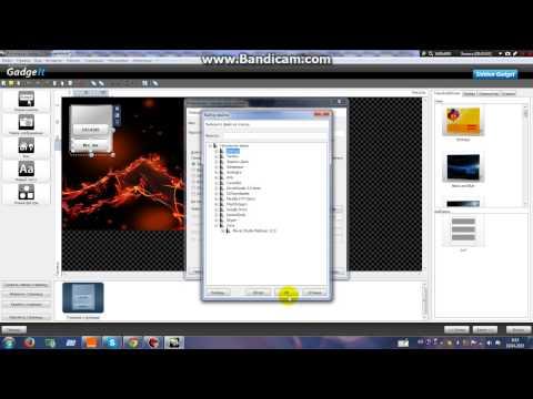 Как создать Гаджеты рабочего stol,свой гаджет для Windows XP,7, 8