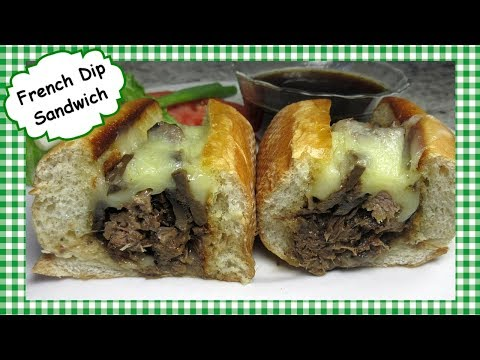 Beef French Dip Sandwich With Au Jus ~ French Dip Sandwiches Using Slow Cooker