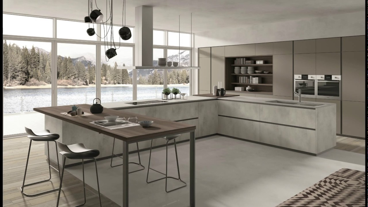 LAB 4 - Cucine moderne by Cucinesse - YouTube