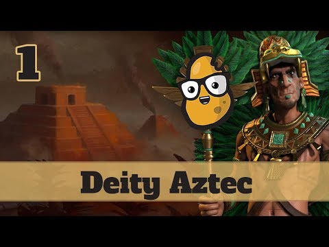 Civ 6 Aztec Ep. 1 - Let's Play Civ 6 Aztec (Short Series)