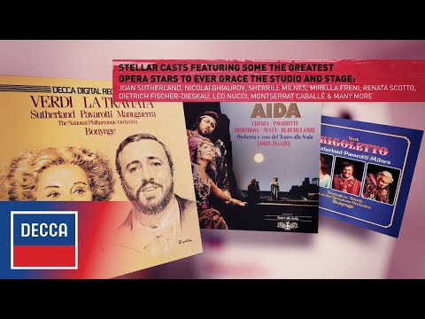 Luciano Pavarotti: The Complete Opera Recordings (Trailer)