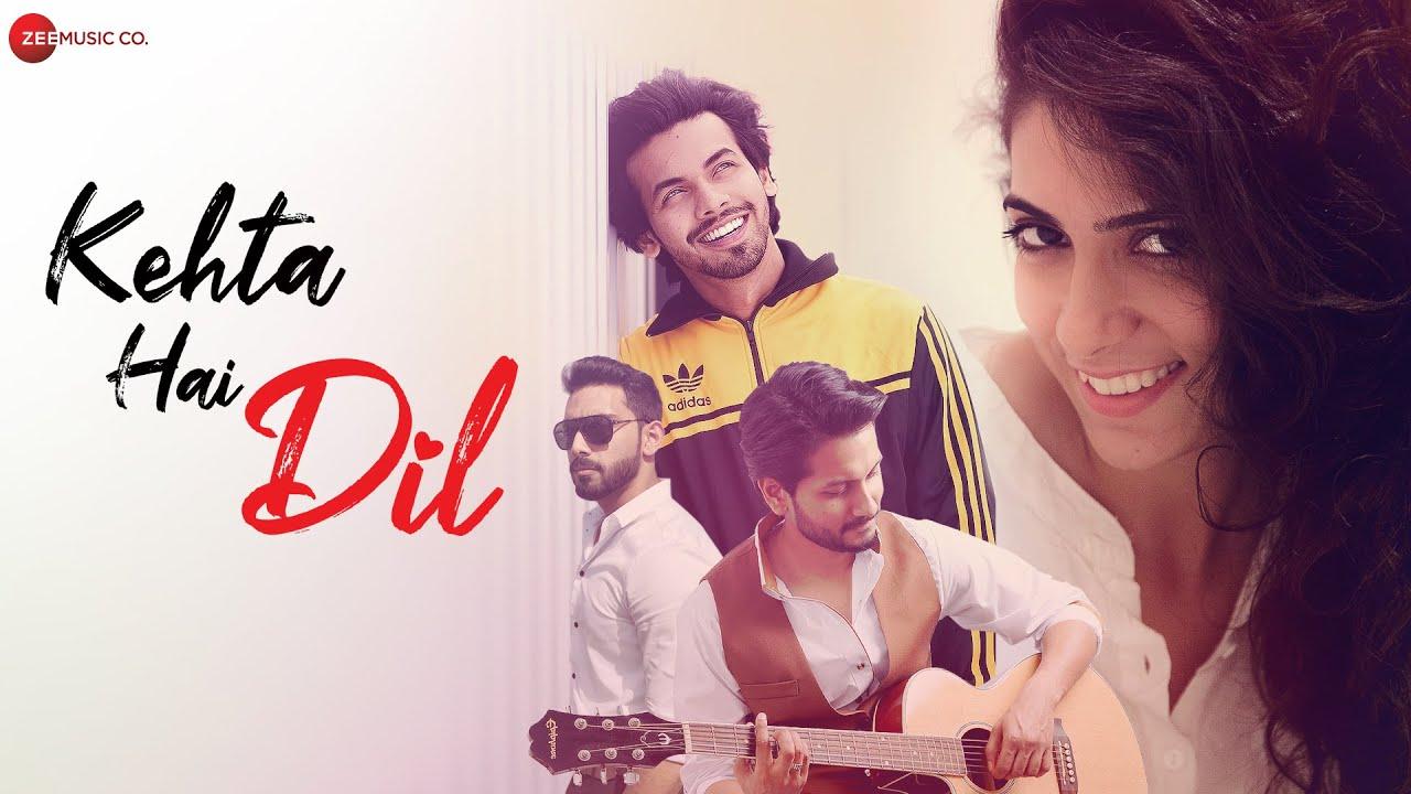 Kehta Hai Dil - Official Music Video | Ajmal Khan & Gunjan Madnani | Fahmil Khan