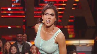 Mela La Melaza hizo de las suyas en Nuestra Belleza Latina