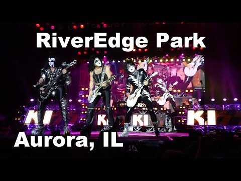 KISS (Live In Concert) Aurora, IL (August 20, 2017) RiverEdge Park