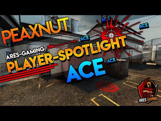Player-Spotlight: PeAxNuT USP ACE on de_cache  by Ares Gaming CS:GO