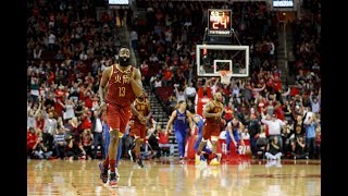 James Harden Flashes Big Smile As He Barely Keeps 30+ Points Streak Alive vs. Dallas Mavericks