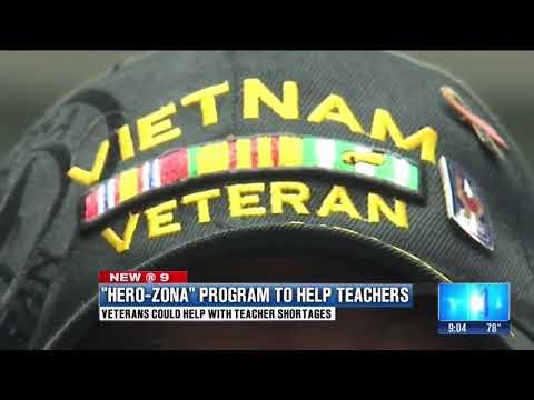 HeroZona helps veterans get jobs and help our classrooms