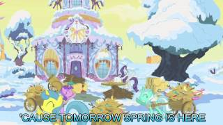 winter wrap up with lyrics my little pony friendship is magic song