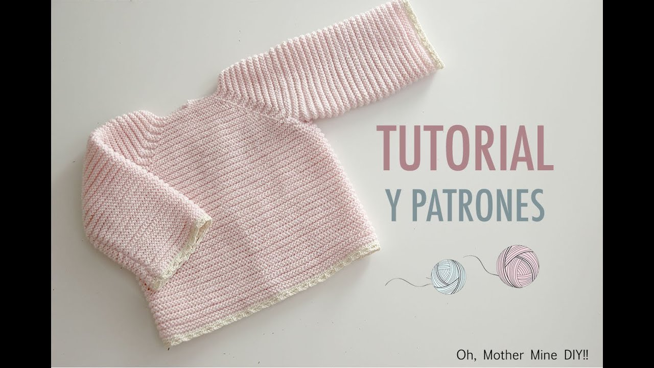 Ropa de lana: Jersey de punto paso a paso (patrones gratis) - YouTube