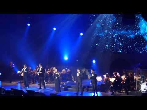 IL Divo & Lea Salonga 'Can You Feel The Love Tonight' Nottingham 24.10.14
