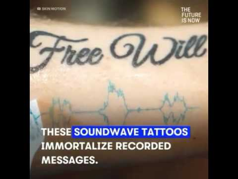 Tattoos that play music