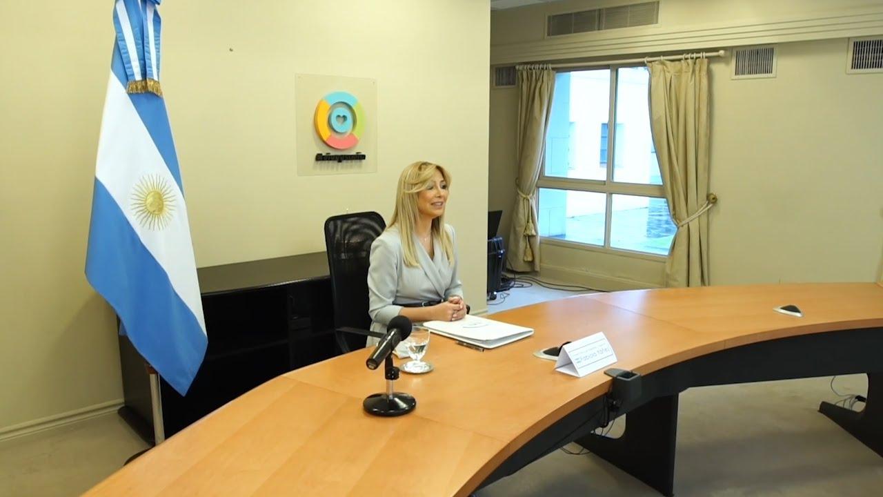Fabiola Yañez participó de foro regional sobre migración y pandemia