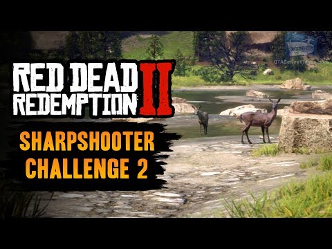 Red Dead Redemption 2 Sharpshooter Challenge #2 Guide - Kill 2 different animals with Dead Eye