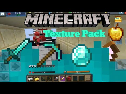 Bedwars Minecraft Texture Pack Gameplay ( Blockman GO 1.11.35 )