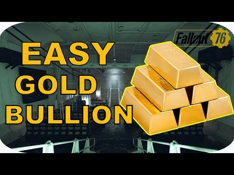 HOW TO GET GOLD BULLION AND TREASURY NOTES - Fallout 76 Wastelanders
