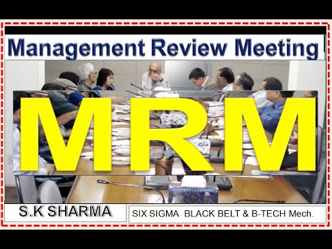 Management Review Meeting (MRM) How To Conduct Meeting, MRM Documents, Formats & Input Trend Charts