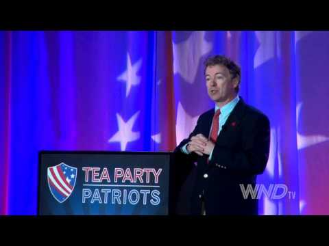Senator Rand Paul speaks at Tea Party 5 Year Anniversary Event