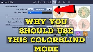 Why you should use this colourblind mode - Fortnite Tips And Tricks