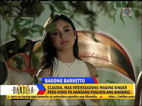 Is Claudia Barretto joining showbiz?