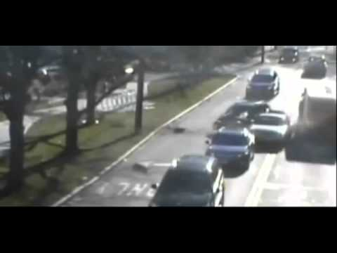 Incredible car accident in Wellesley, Massachusetts