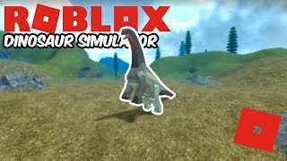 Roblox Dinosaur Simulator - The Friendly Camara! (How OP Is Camarasaurus?)