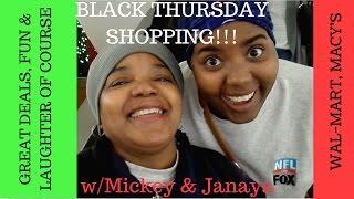 vlog black friday shopping wmickey janaya