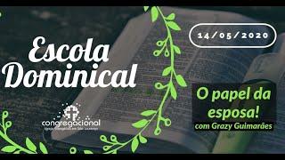 PAPEL ESPOSA - Estudo Bíblico 14/05/2020