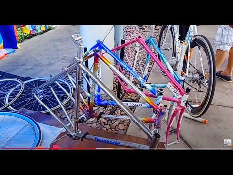 จักรยานวินเทจ Congnago รุ่นเด็ดๆ ชุดขับเทพๆ ตลาดนัดจักรยาาน TOT