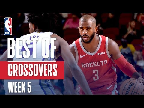NBA's Best Crossovers | Week 5