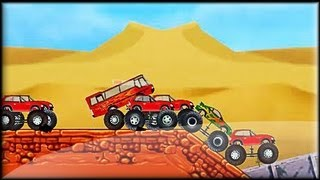 Monster Trucks Attack - Game preview / gameplay