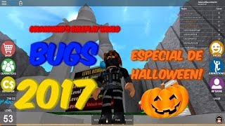 HALLOWEEN SPECIAL 🎃! -ALL BUGS IN OBLIVIOUSHD ROLEPLAY WORLD//ROBLOX 🎃