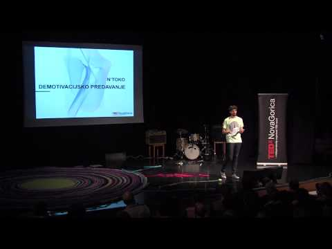 Demotivational lecture: N'toko at TEDxNovaGorica