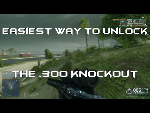 Battlefield Hardline How to unlock the .300 Knockout