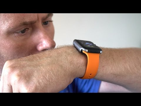 buy popular 5c5a1 6c730 X-Doria Defense Edge Bumper for Apple Watch Review - YouTube