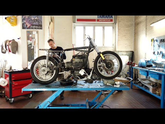 BMW R100 RS _ TIME-LAPSE