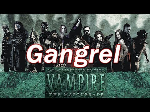 Vampire the Masquerade | VtM Clans and Bloodlines | Gangrel