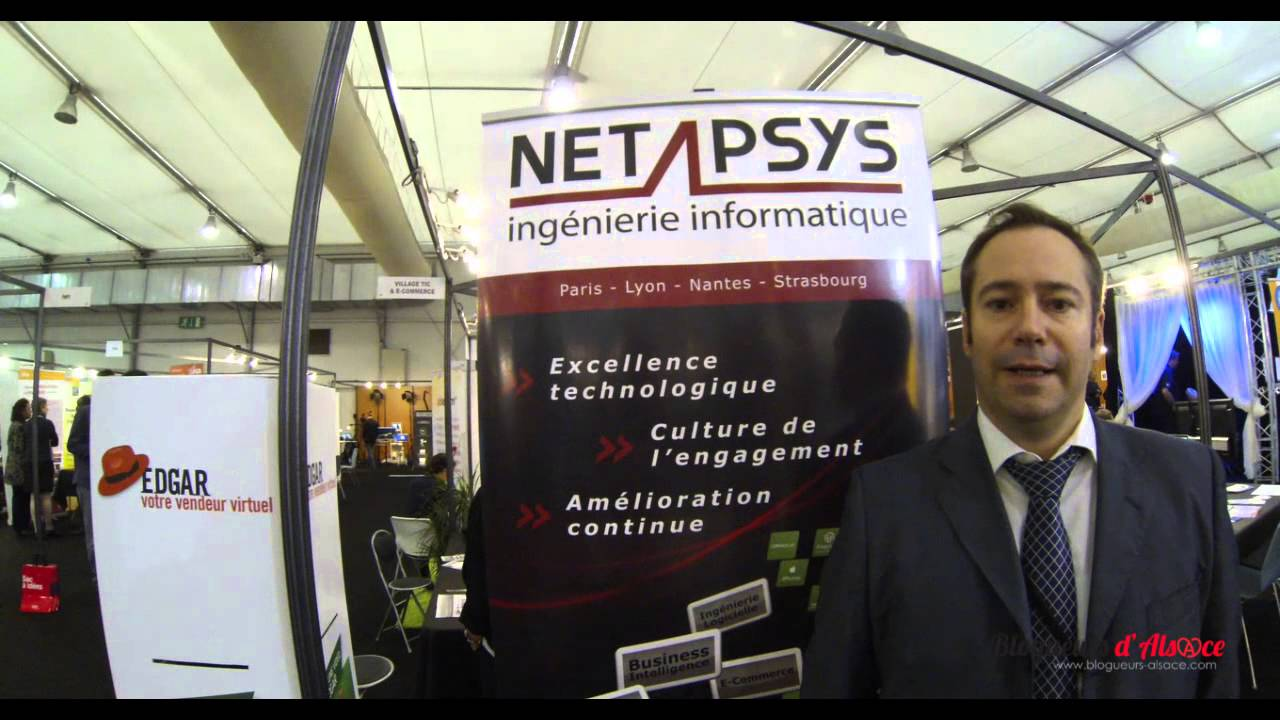 Interview d 39 un exposant lors du salon des nouvelles technologies et des entrepreneurs snte2013 - Salon des nouvelles technologies ...