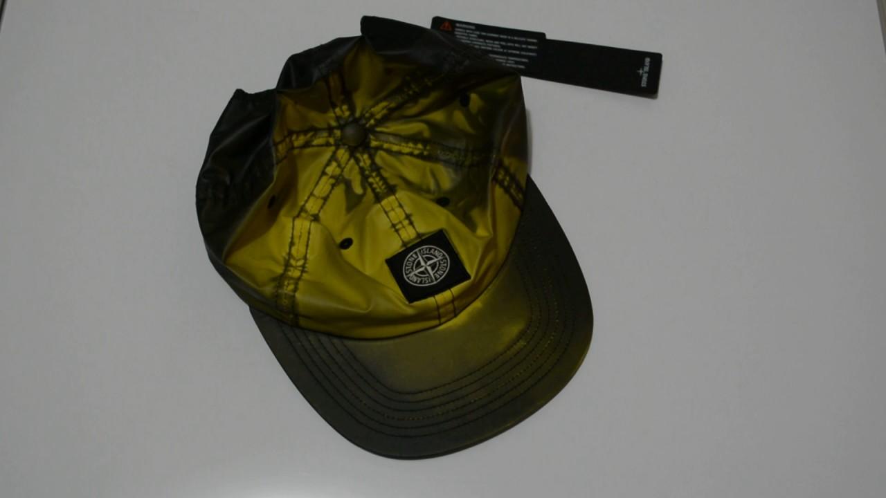 ec05169c Supreme X Stone Island Heat Reactive Hat - YouTube