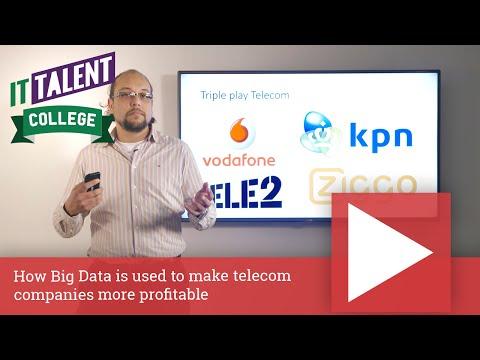 How Big Data Is Used To Make Telecom Companies More Profitable